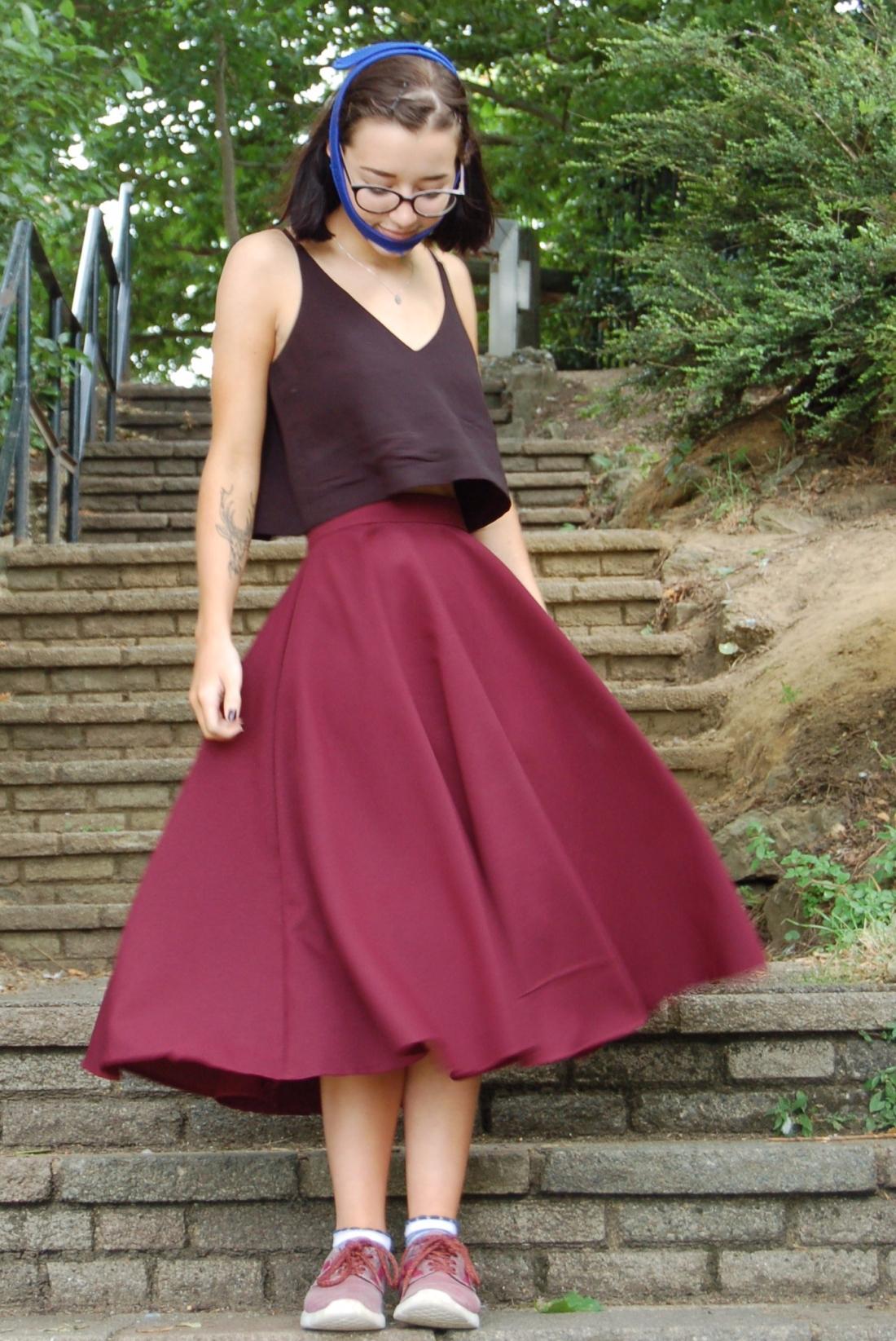 My Prom Dress! – Hobbling Handmades