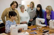 Janome sewing machine workshop