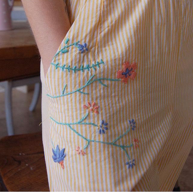 marigold embroidery