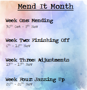 mend it month